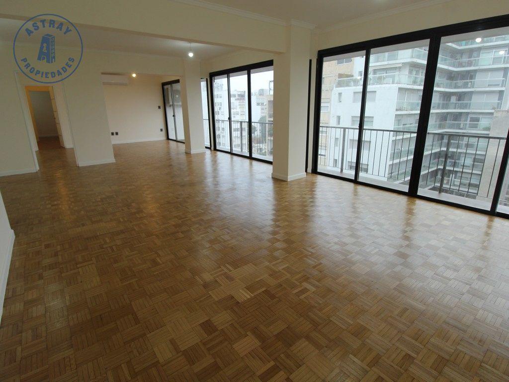 Apartamento en alquiler Pocitos 3 dormitorios
