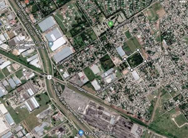 Venta de Lote Más de 500 mts. en Tigre Benavidez