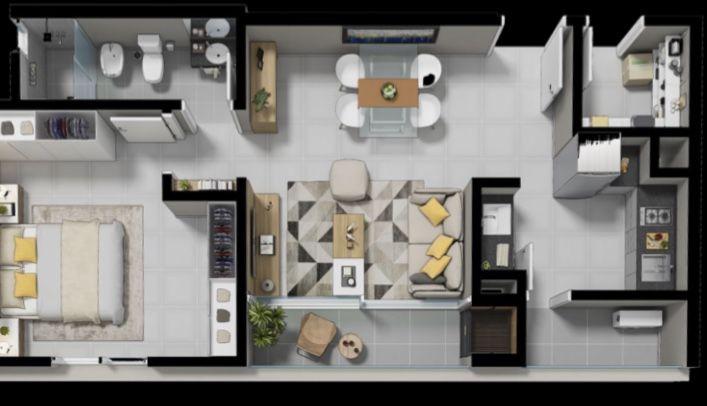 EDIFICIO LAGUNA CLUB - Edificio en Ytay 1 dormitorio
