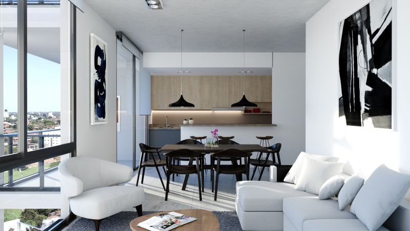 EDIFICIO BELIVE FRANCES - Edificio en Barrio Jara 1 dormitorio
