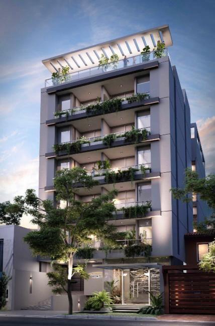 HABITALIS GARAY - Edificio en Villa Morra 2 dormitorios