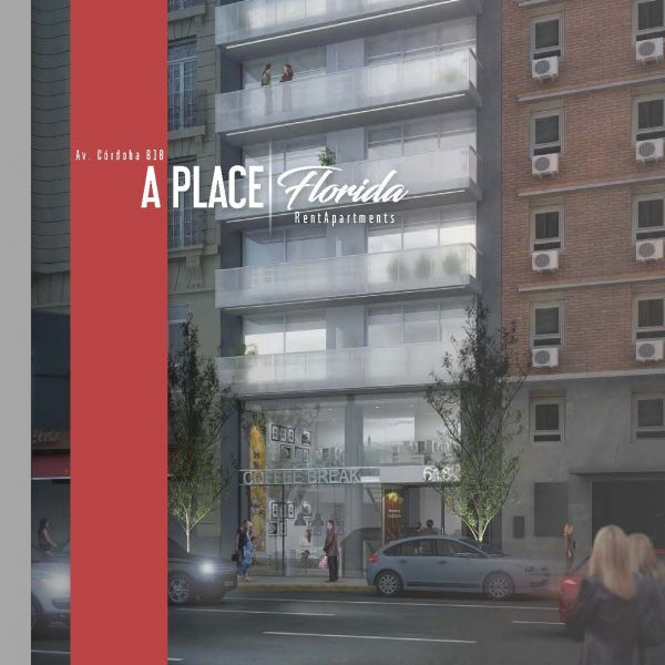 A Place Florida (Córdoba 612) - Edificio en San Nicol?s 1 ambiente