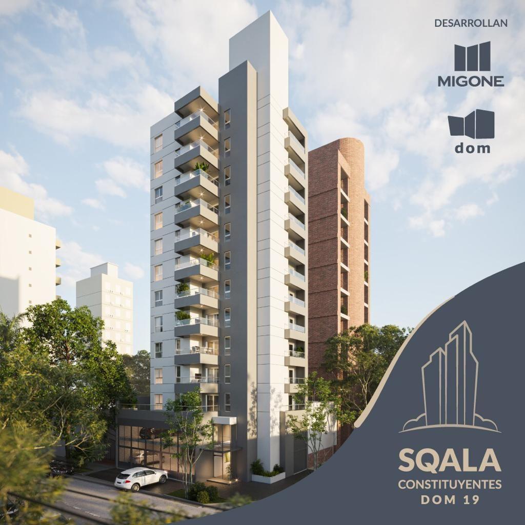 SQALA CONSTITUYENTES - Edificio en Constituyentes 1 ambiente