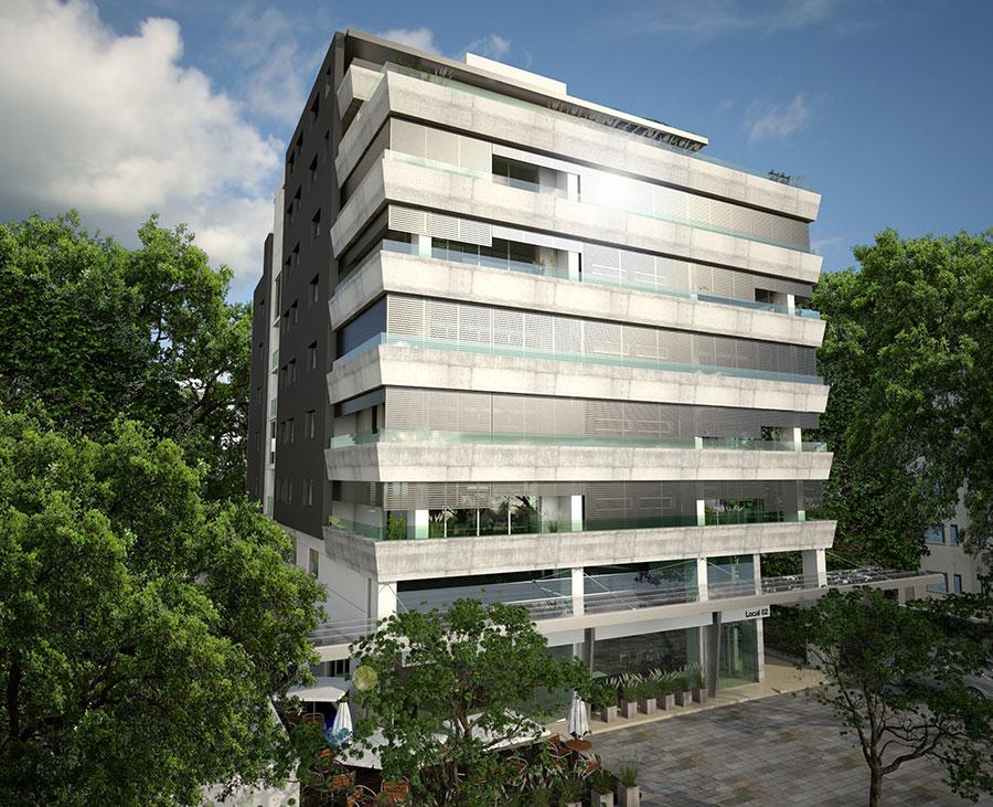 Los Naranjos - Edificio en Ituzaing? Norte 1 ambiente