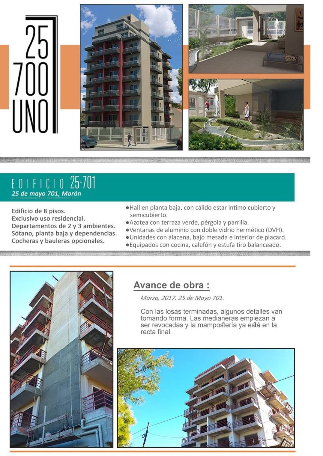 Edificio 25-701 - Edificio en Mor?n 2 ambientes