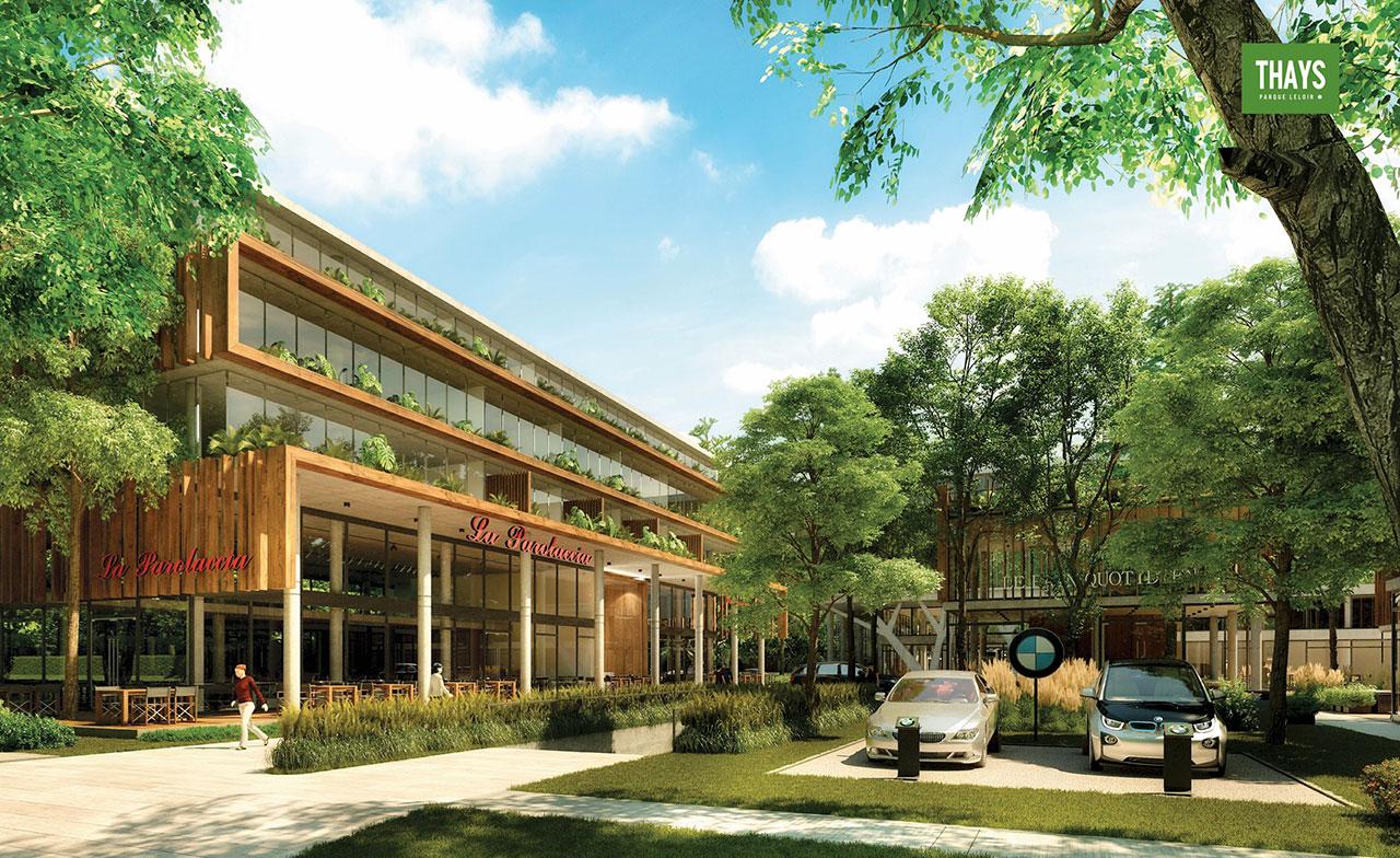 THAYS PARQUE LELOIR - Edificio en Parque Leloir