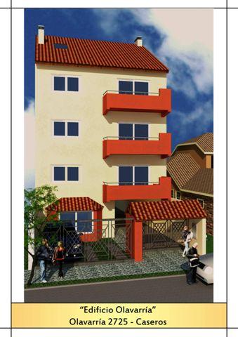 OLAVARRIA - Edificio en Caseros 1 ambiente