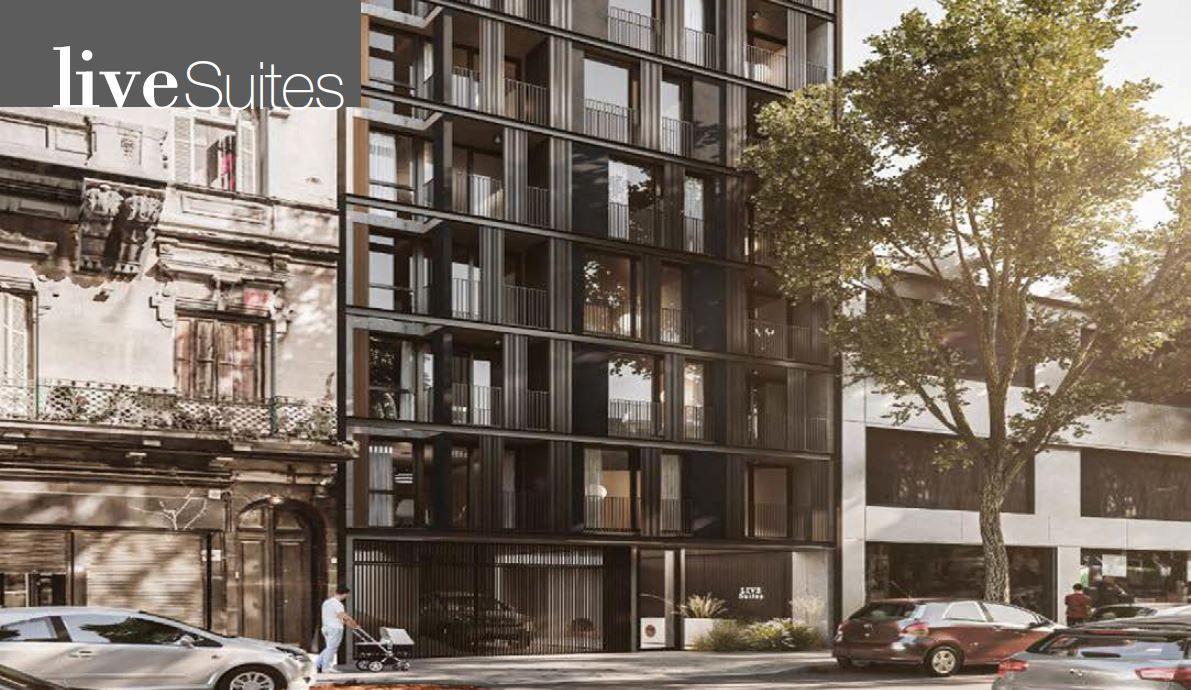 LIVE SUITES - Edificio en Barrio Sur