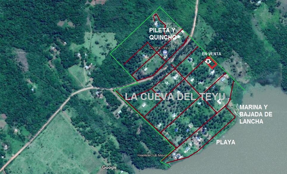 Lote en venta La Cueva Del Teyu
