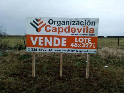 Venta de Lote Más de 500 mts. en Villa Constitución