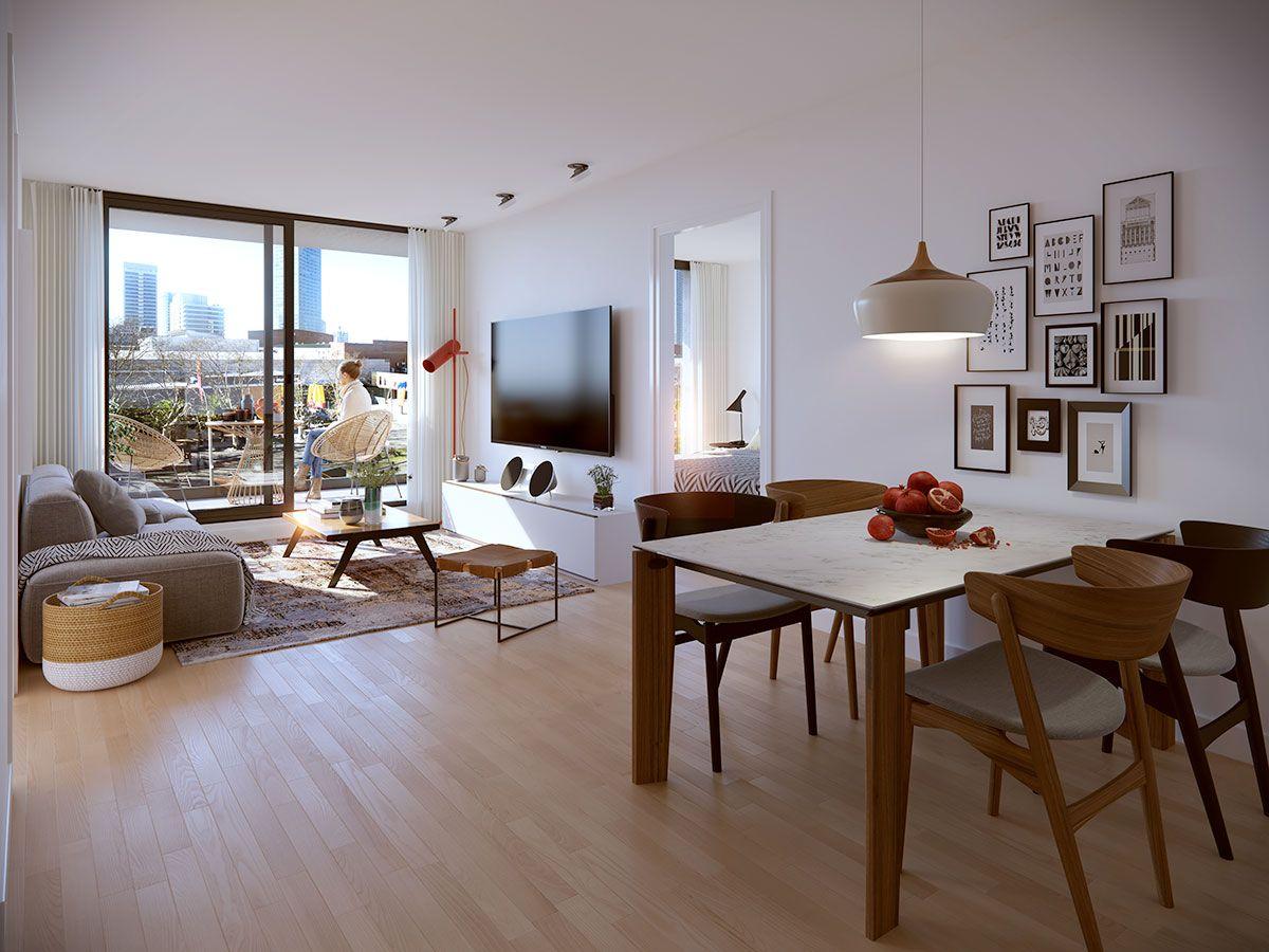 Apartamento en venta Pocitos Nuevo 1 dormitorio