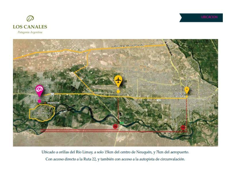 Lote en Plottier, Los Canales | VIF773 | Viñuela & Ferracioli Servicios Inmobiliarios